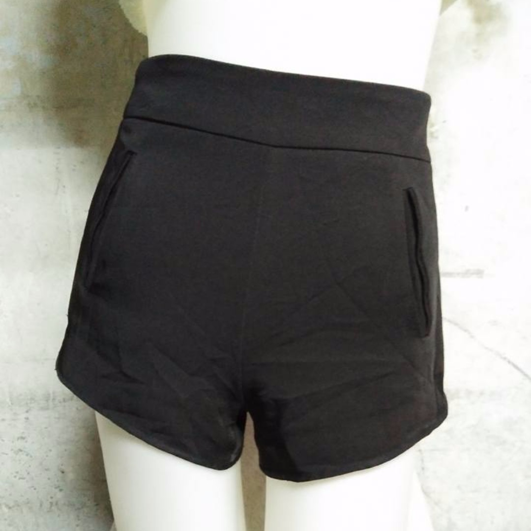 Topshop Black Sexy Short