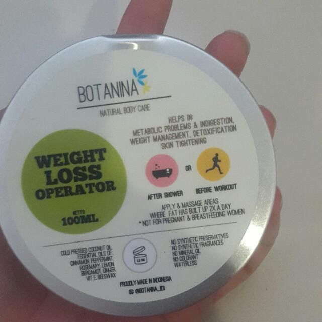 Weight Loss Operator frm Botanina