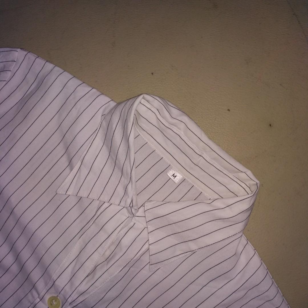 Whte Stripes Shirt