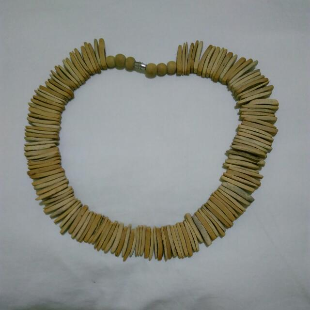 Wooden Ethnic-inspired Necklace