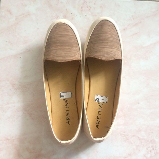 Woody Flatshoes