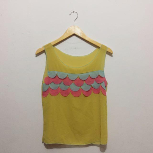 Yellow Rainbow Shirt