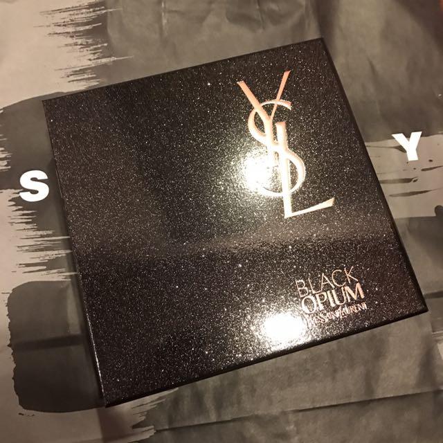 Yves Saint Laurent black opium 黑鴉片香水禮盒✨