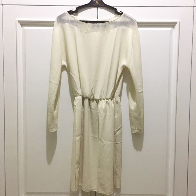 [ZARA WOMEN] White Dress