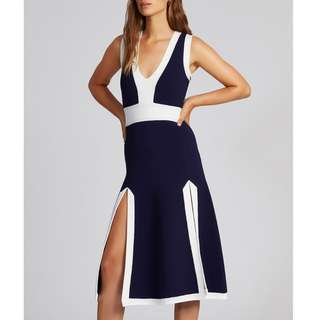 Alice McCall - Open Your Eyes Dress - Ink - Size 6 - BNWT - RRP $390