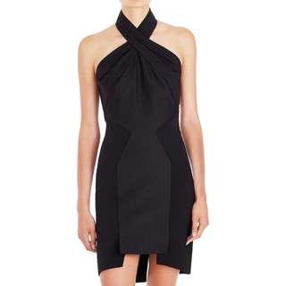 Sass & Bide - Magnetic Pull Halter Dress - Black - Size 8 - BNWT - RRP $550