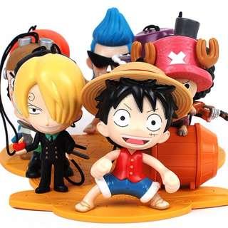 McD Macdonald One Piece Toys ( Full set 9pcs ) FREE SHIPPING