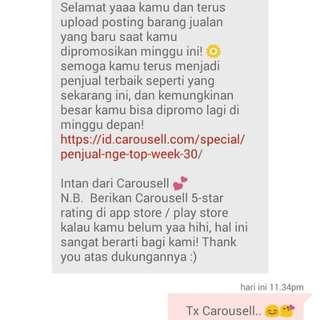Tx Carousel..😊