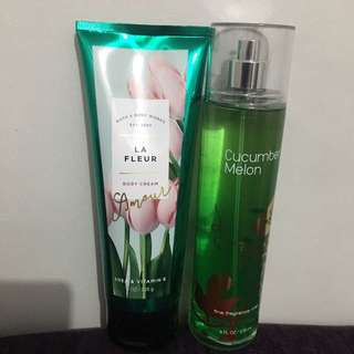 Bath And Body Works Lotion And Fragrance Mist