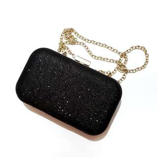 Black Mini Sling Bag Import
