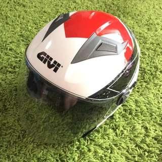 Original GIVI M30.2 Presto Graphic Racing Helmet (White)