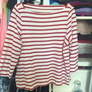 Kate Spade Broome Street 3/4 Length Shirt
