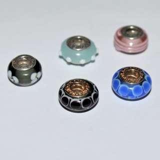 Pandora Glass Beads