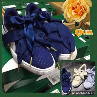 PUMA Basket Heart Twilight Blue