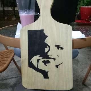 lukis talenan vintage woodsart