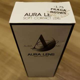 Contact Lense》Brand New AURALENS in Prada Brown -1.75