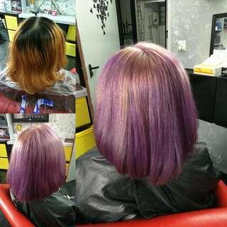 Nail & Hair Dye Service Yishun