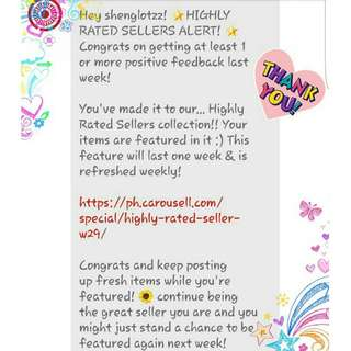 6 Weeks In A Row! Thanks again Darlings! Free Shipping Continuous!