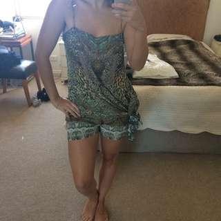 Camilla Top And Short Set Size 1