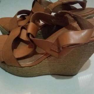 Charles And Keith Wedges Espadrilles Shoes