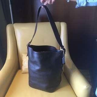 Coach Big Leather Bag
