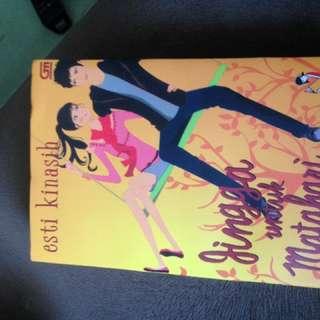 Novel Jingga Utk Matahari