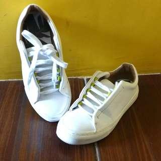 ZARA White Shoes
