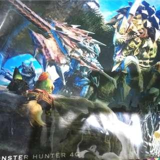 Monster Hunter Poster (plastic film)