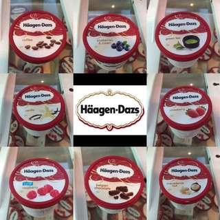 Haagen Dazs經典口味100ml冰淇淋