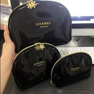 Chanel Cosmetic 3 Piece Set