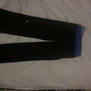 Lululemon Groove Pants Regular Length Black