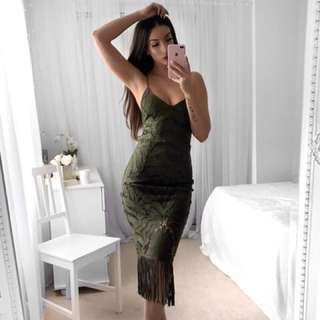 Khaleesi Dress Khaki 6 8 10 12