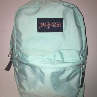 Teal Jansport