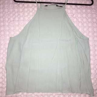 Mint Green Glassons Top
