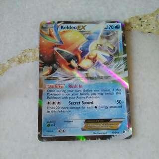 Keldeo Ex (Pokemon Card)