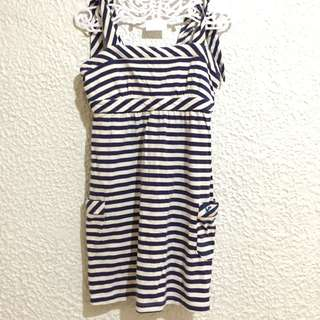 Dress - Stripes Print / American Eagle