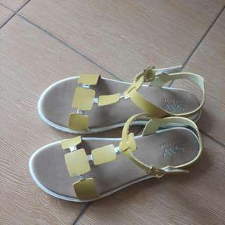 Yellow Yolk Sandals By SW