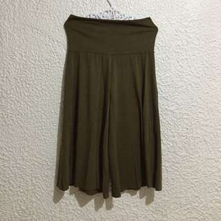 Culottes: Army Green