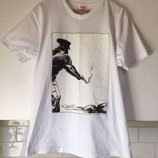 Supreme X Raymond Pettibon T Shirt Men's Size Large