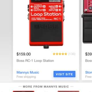 Loop Station Brand New Never Used