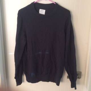 AS Colour Navy Sweater