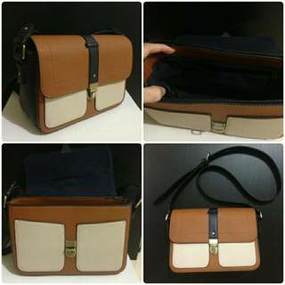 Preloved - Accessorize UK Satchel Bag with Long Strap