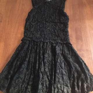 ASOS Petite Black Dress (Size 8)