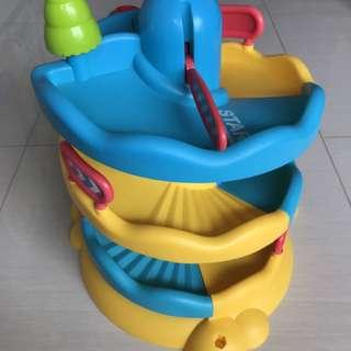 ELC Spiral Car Toy Garage