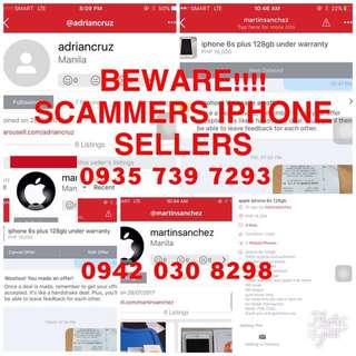 IPHONE 6 PLUS SCAMMER