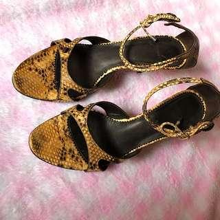 Heeled Sandals (size 7)