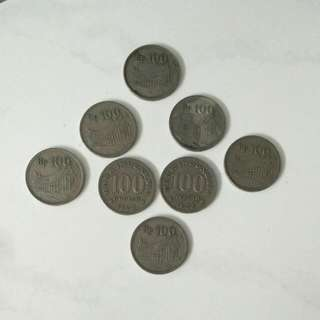 Uang 100 Rupiah Koin