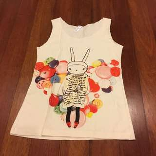 Bunny Buttons Tank Top