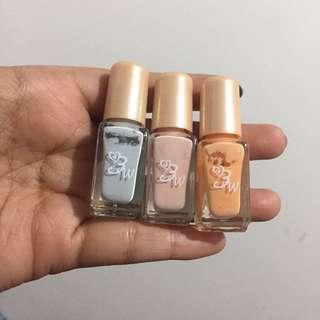 Nail Paint 3 Warna