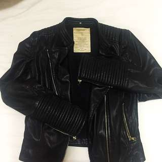 Zara leatherjacket Size S